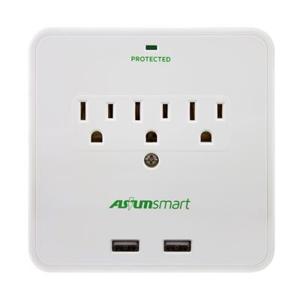 Imagen de Asium Smart  cargadores USB y tomacorriente