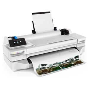 "Imagen de Plotter HP DesignJet T130 - 24"" impresora de gran formato - color"