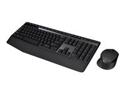 Imagen de Logitech Wireless Combo MK345 - Juego de teclado y ratón - inalámbrico  - 2.4 GHz - QWERTY español - negro, azul