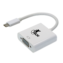 Imagen de Xtech - Display adapter - USB Type C  - VGA - White