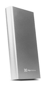 Imagen de Klip Xtreme KBH-200SV - Power bank - 15000 mAh  - 5 pin Micro-USB Type B - 2 x 4 pin USB Type A