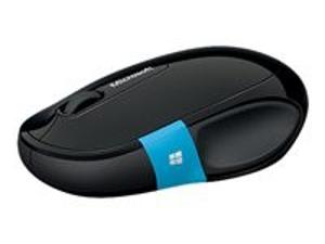 Imagen de Microsoft Sculpt Comfort Mouse - Ratón - óptico  - 3 botones - Bluetooth - negro - para Surface Pro